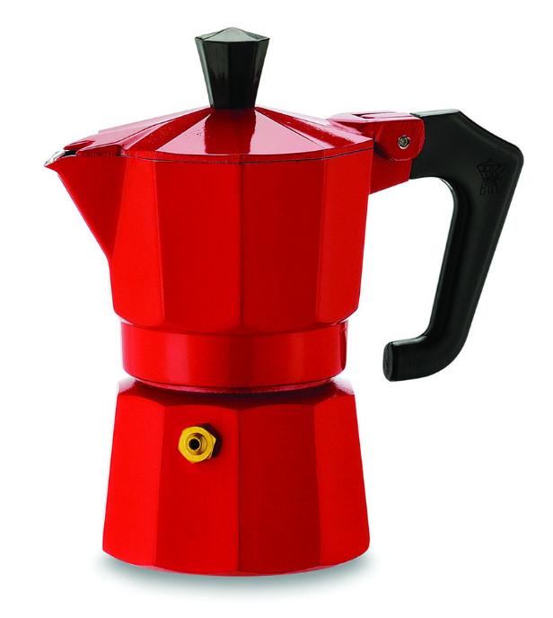PEZZETTI ITALEXPRESS kotyogó 1 csészés piros